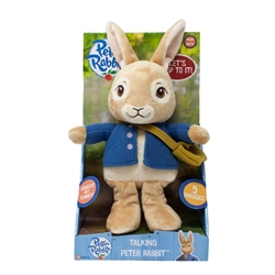 Peter Rabbit  Talking Peter & Lily Plush