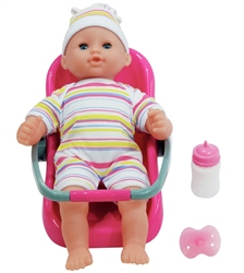 Dolls World Baby Travel Set