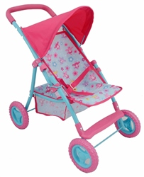 Dolls World Deluxe Dolls Stroller