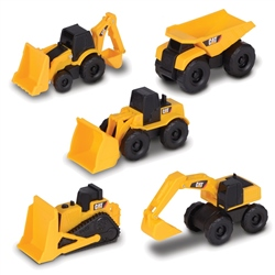 "CAT 3"" Mini Machine 5 Pack"