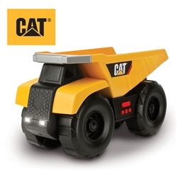 "CAT Big Builder 9"" Light & Sound Dump Truck"