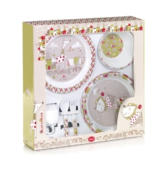 Jane Microwave Crockery Set, 6 piece, Tangram II
