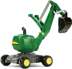 Rolly Toys John Deere Mobile 360 Degree Excavator Ride On