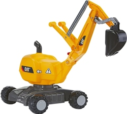 Rolly Toys CAT Mobile 360 Degree Excavator Ride On