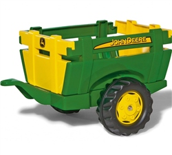 Rolly Toys John Deere Farm Trailer for Child's Tractor