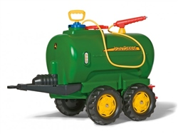Rolly Toys John Deere Twin Axle Tanker for Child's Tractor