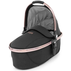 egg Carrycot Diamond Black Special Edition