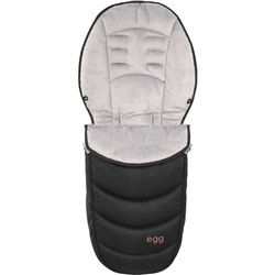 egg Footmuff Diamond Black Special Edition