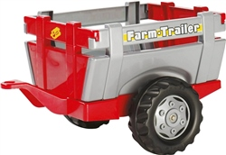Rolly Toys Red Farm Trailer