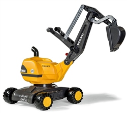 Rolly Toys Volvo Mobile 360 Degree Excavator Ride On