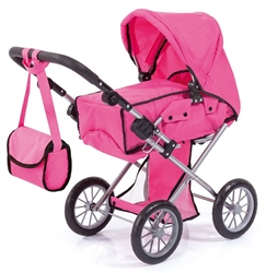 Bayer Design City Star Doll's Pram