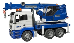 Bruder MAN TGS Crane truck with light & sound Module