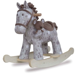 Little Bird Told Me Biscuit & Skip Rocking Horse