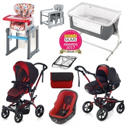 Jane Complete Nursery & Travel System Bundle
