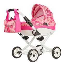 Roma Wynnie Dolls Pram Flower Power