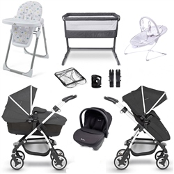 Silver Cross Wayfarer Complete Nursery & Travel System Bundle 1