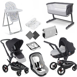 Jane Rider Complete Nursery & Travel System Bundle 1