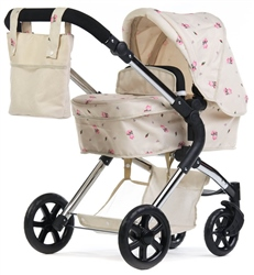 Roma Darcie Single Dolls Pram Cream