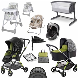 Jane Minnum Complete Nursery & Travel System Bundle 1