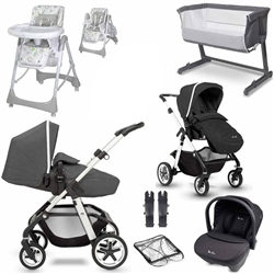 Silver Cross Horizon Complete Nursery & Travel System Bundle 1