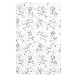 Mollydoo Baby Unicorn Pug Changing Mat
