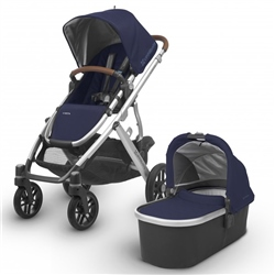 Uppababy Vista Pushchair & Carrycot Complete Pram Set