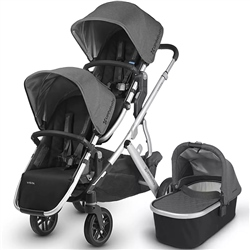 Uppababy Vista Double Pushchair & 1 Carrycot