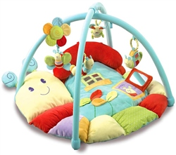 Little Bird Told Me Softly Snail Playmat & Gym