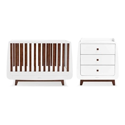 Snuz SnuzKot Luxe 2 Piece Nursery Furniture Set