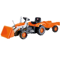 Dolu Tractor Pedal Operated with Trailer & Excavator