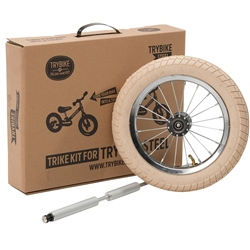 TryBike Steel 2-1 Balance Bike Trike Kit For Vintage Bikes