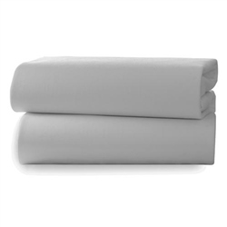 Clair De Lune 2 Cotton Jersey Grey Marl Cot Bed Sheets