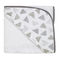 Clair De Lune Sparkling Muslin Hooded Towel