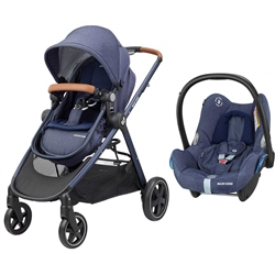 Maxi-Cosi Zelia Pushchair and Cabriofix Infant Carrier Travel System