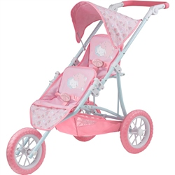Baby Annabell Double Pushchair