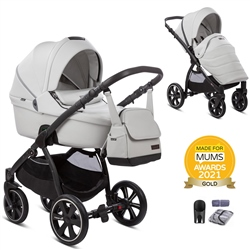 Noordi Fjordi Leather 2in1 Complete Pram Set