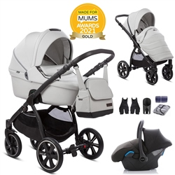 Noordi Fjordi Leather 3in1 + Car Seat - Cloud