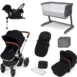 Ickle Bubba Stomp V3 Travel System & Essential Nursery Bundle