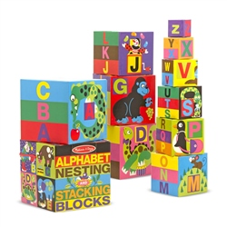 Melissa & Doug  Nesting & Stacking Blocks