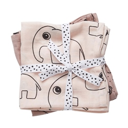 Done By Deer Swaddle, 2-pack, Contour