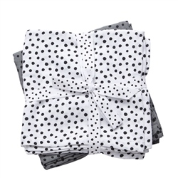 Done By Deer Swaddle, 2-pack, Happy dots