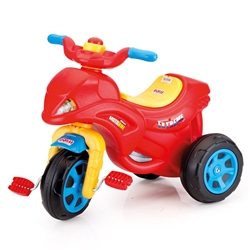 Dolu Kids Moto Bike Pedal Tricycle