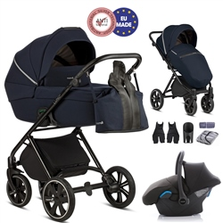 Noordi Luno 3in1 + Car Seat - Moonshine