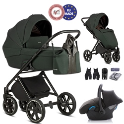 Noordi Luno 3in1 + Car Seat - Forest Green