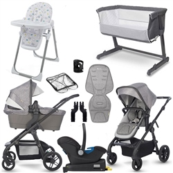 Silver Cross Coast Complete Travel System & Premium Nursery Bundle