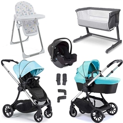 iCandy Lime Travel System & Premium Nursery Bundle