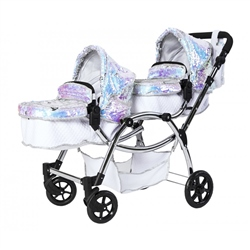 Roma Polly Amy Childs Twin Dolls Pram