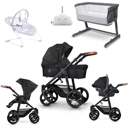 Venicci Gusto Travel System & Premium Nursery Bundle