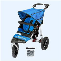 Out 'n' About Nipper Single V4 Pushchair