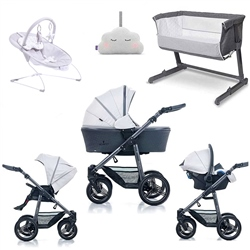Venicci Carbo Travel System & Essential Nursery Bundle